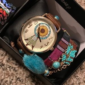 Pocahontas Themed Watch / Bracelet